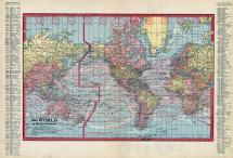 World Map, Wilkin County 1915